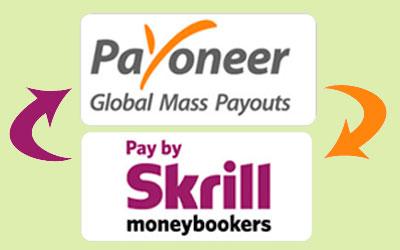 Skrill - Sacar com Payoneer